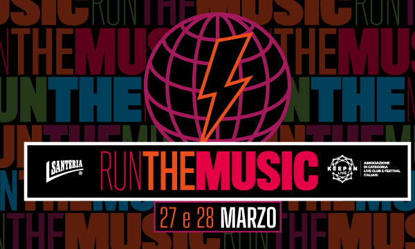 Run The Music, corriamo per la musica live