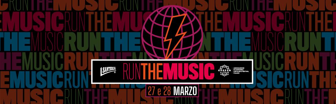 Run The Music, corriamo per la musica live
