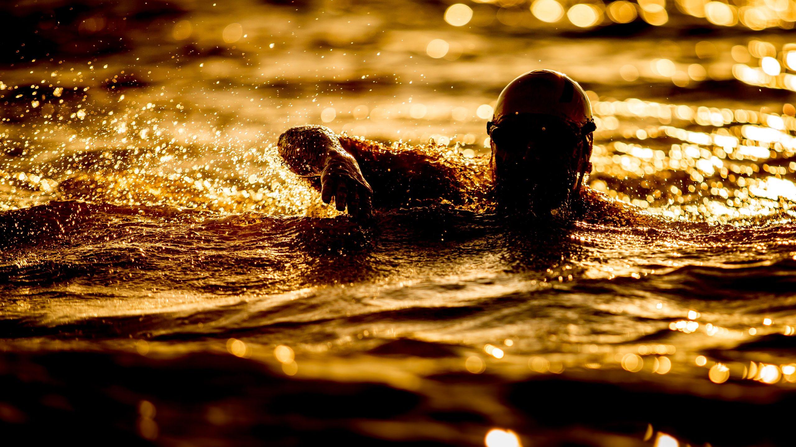 nuoto in acque libere, allenamenti