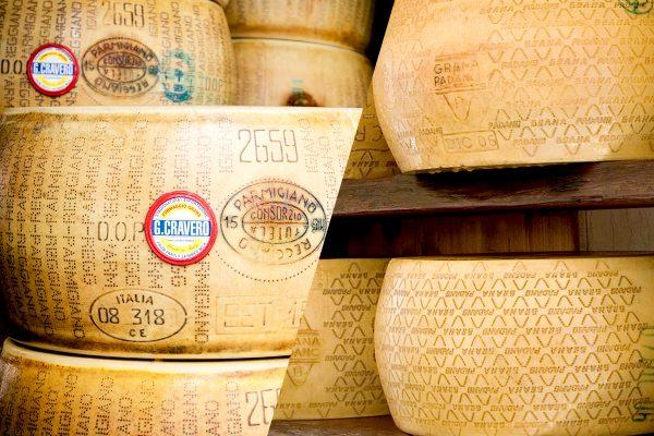 Parmigiano Reggiano VS Grana Padano