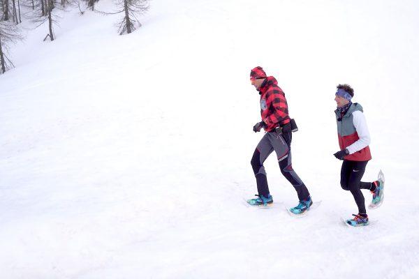 Discovering: ciaspole e corsa fra le Dolomiti di Brenta