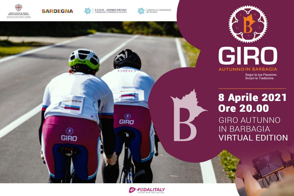 Giro Autunno in Barbagia Virtual Cycling
