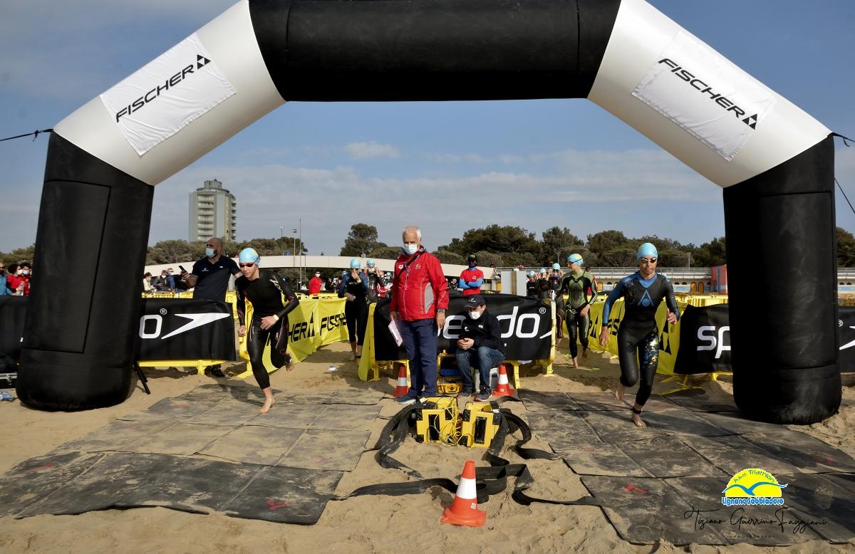 5° triathlon sprint gold città di Lignano, ritorno alle gare nel 2021