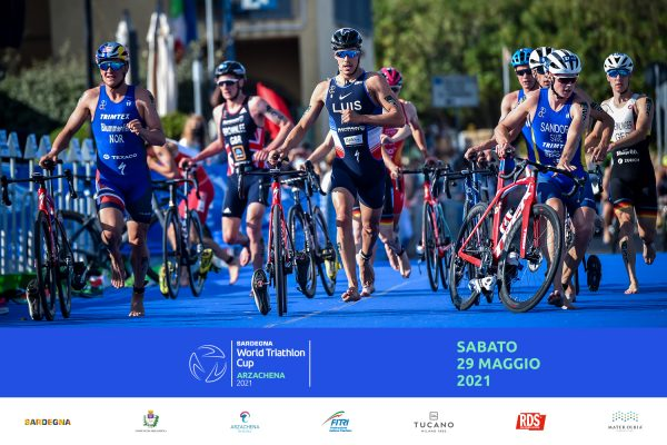 World Triathlon Cup Arzachena, ecco le starting list