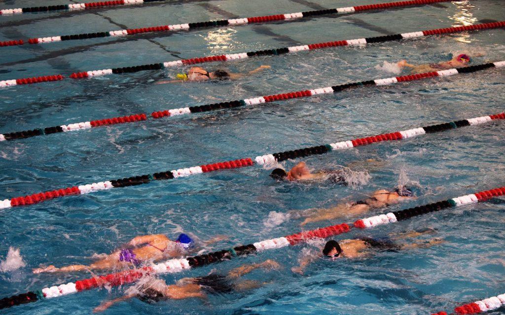 nuoto in corsia