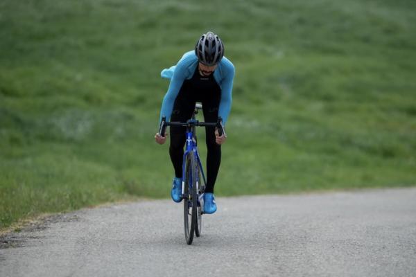 Omar Di Felice e il Tour Bici Amore Mio
