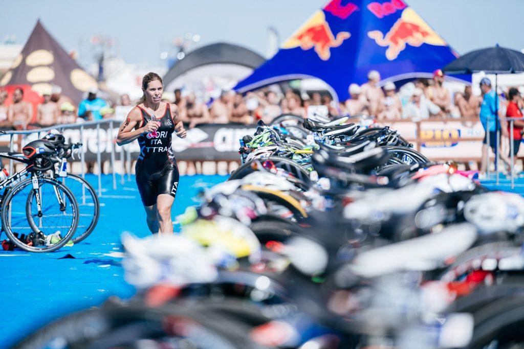 T1 la transizione nuoto bici