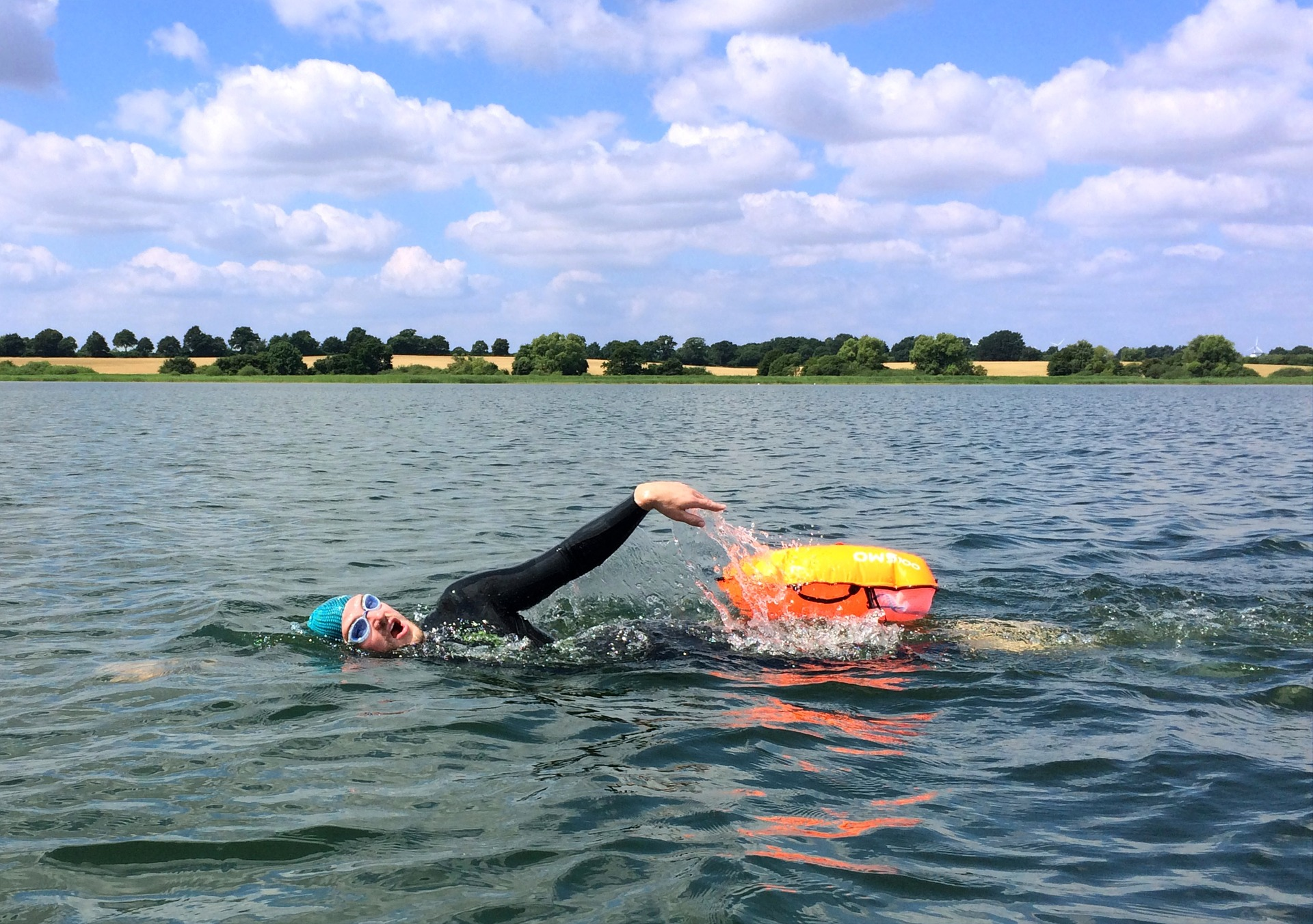 allenarsi in acque libere