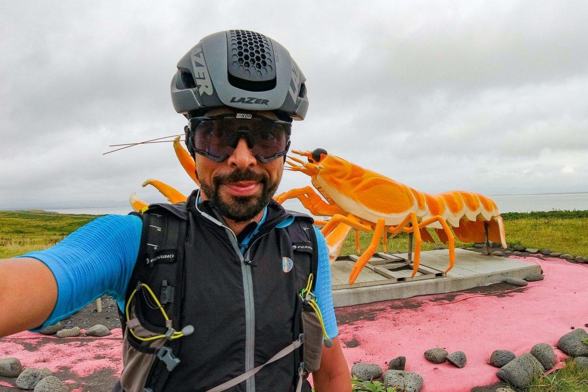Omar Di Felice: il suo cicloviaggio in Islanda