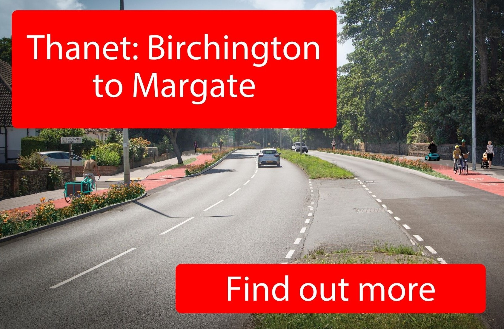 Thanet: Birchington to Margate - click here to find out more.