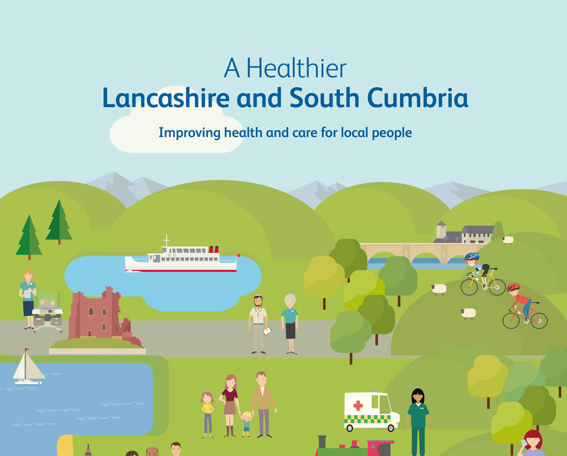 Healthier Lancashire and South Cumbria is the Sustainability and Transformation Partnership for the region.