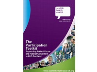 Front cover of the participation toolkit