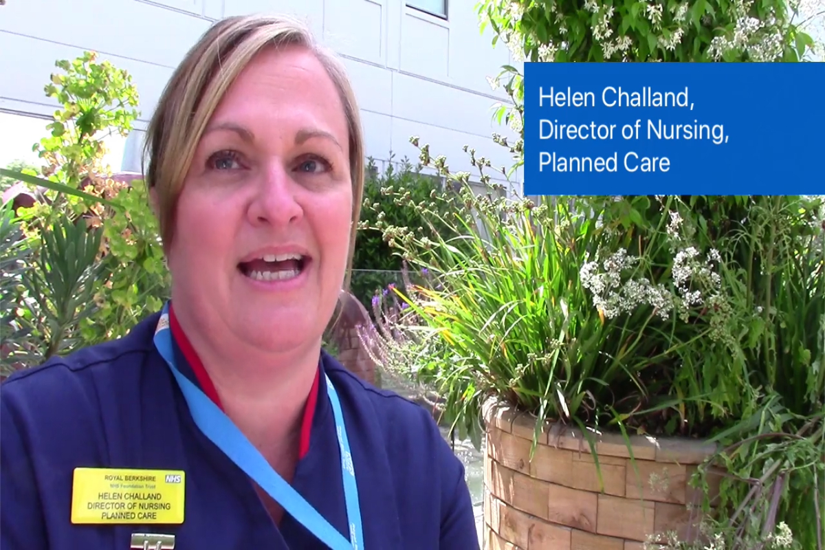 Helen Challand, Director of Nursing, Planned Care