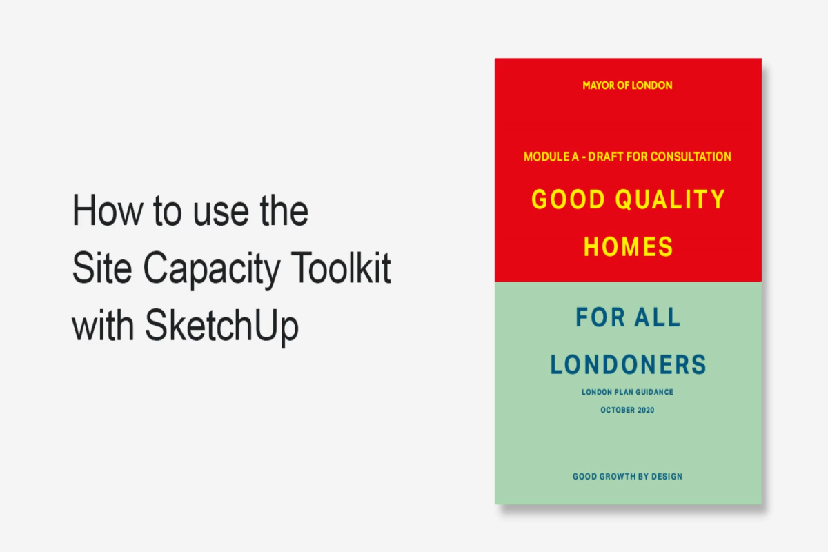 How to use the Site Capacity Toolkit with SketchUp