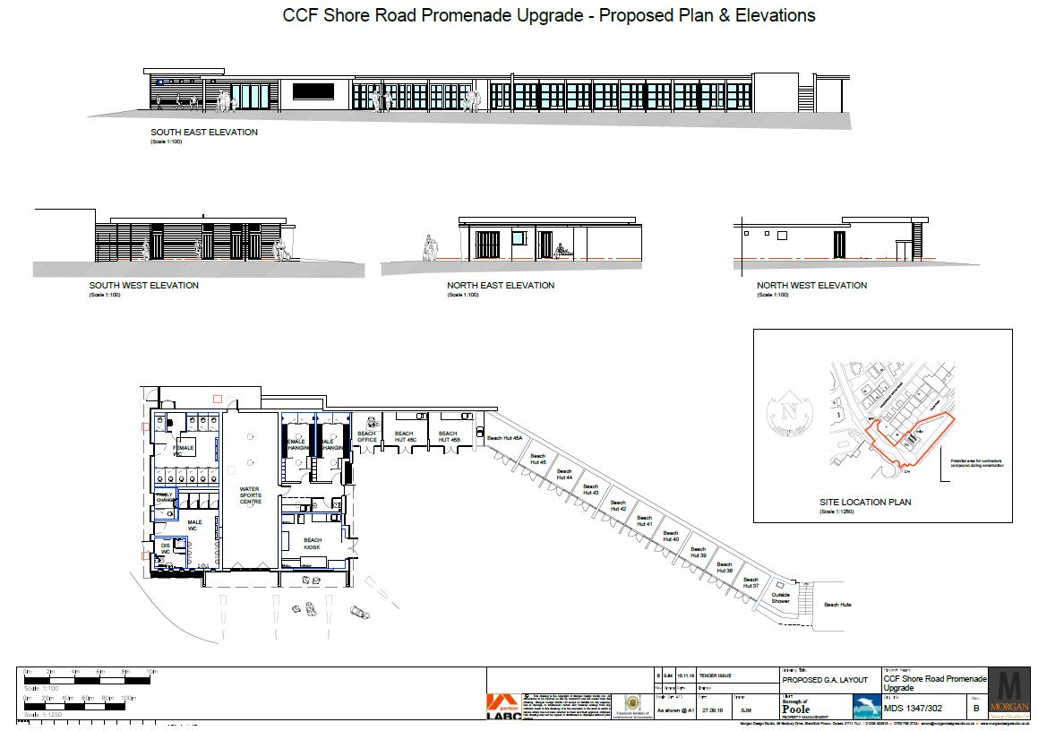 Proposed Floor Plan & Elevations