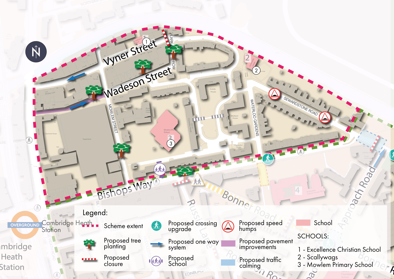 Scheme 1 area plan