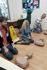 Learning how to perform CPR