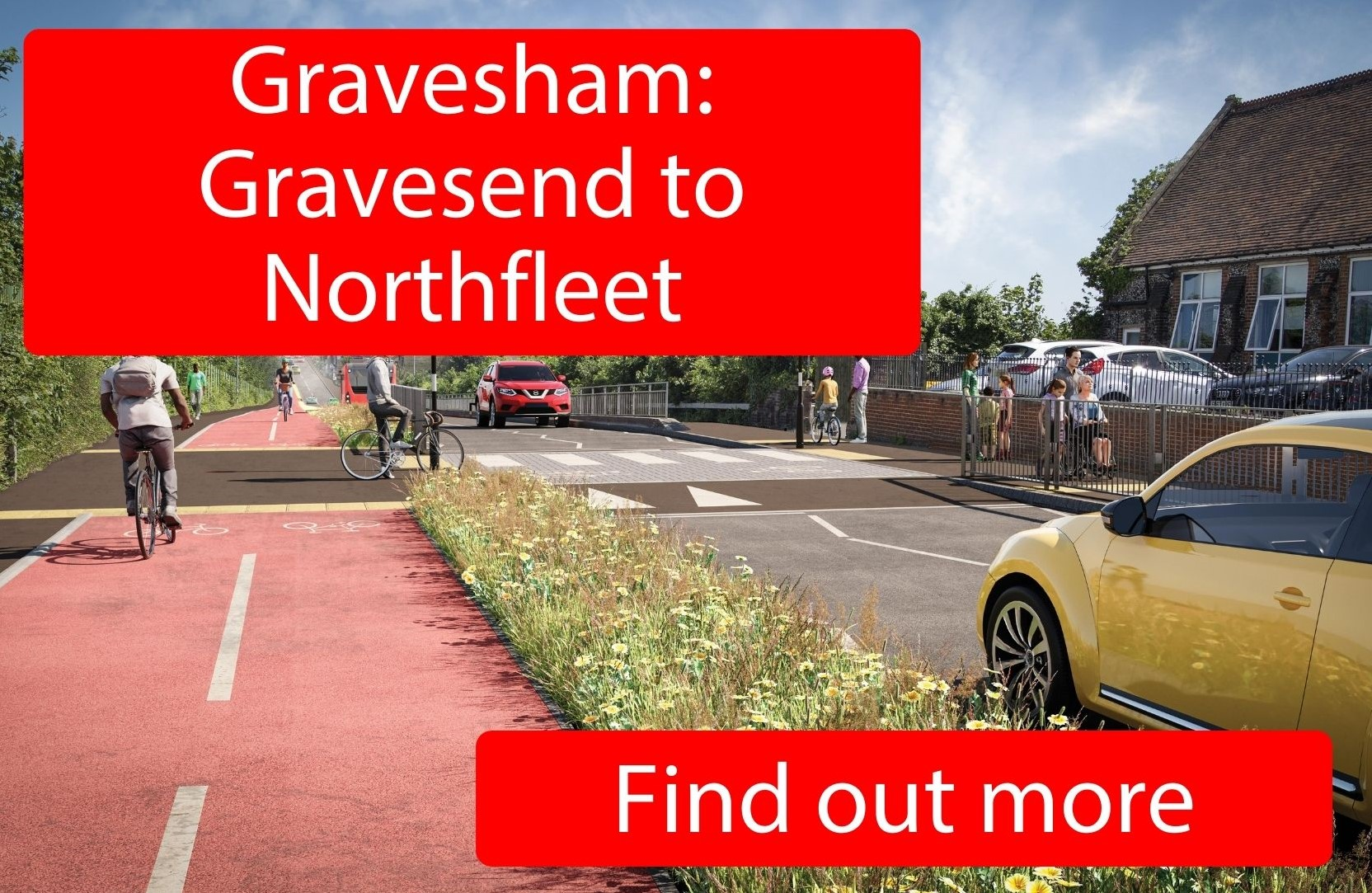 Gravesham: Gravesend to Northfleet - click here to find out more.
