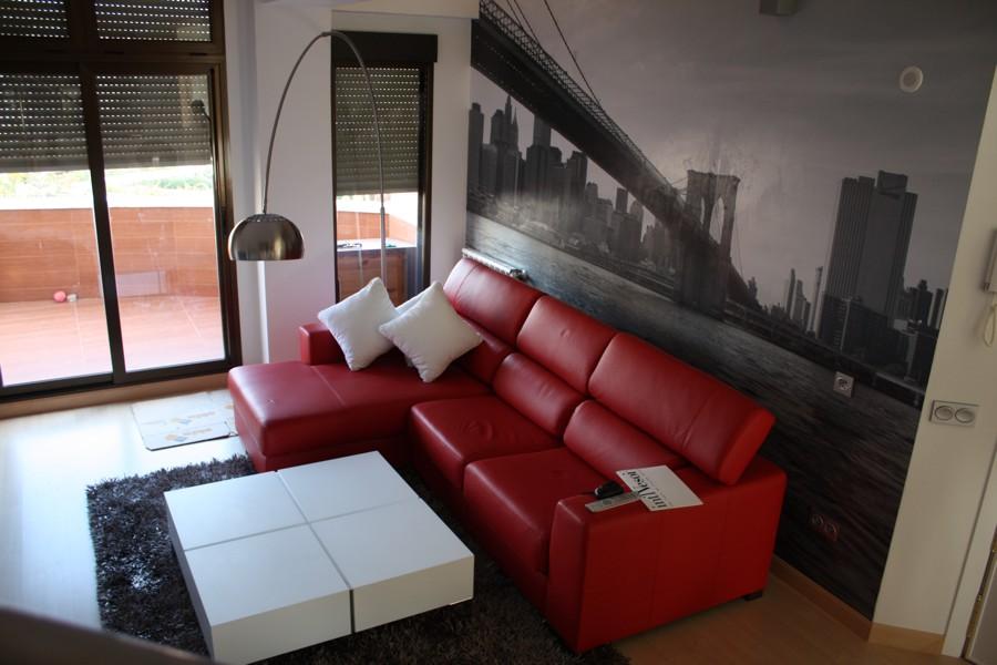 Diseño de interiores ático Madrid, 2008 - Einteriorismo