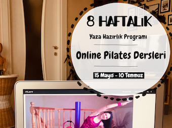 Online 8 Haftalık Pilates Dersleri