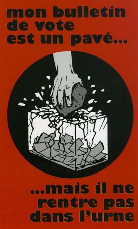 Cartell llibertari del maig del 68 francès
