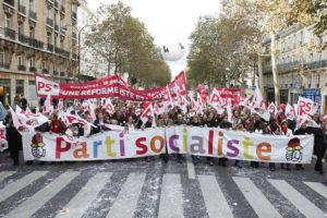 Manifestació del Partit Socialista Francès / Foto: Grangeaud
