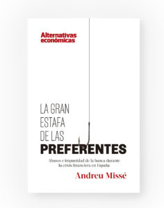 contraportada LA GRAN ESTAFA DE LAS PREFERENTES (1)
