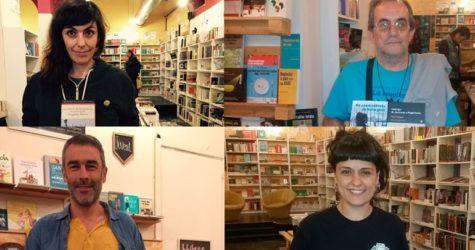 Quatre activistes fan la seva tria per un #SantJordiCrític