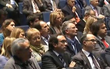 El diputat Xavier Crespo va assistir a l'acte d'Artur Mas.