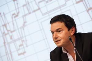 El professor Thomas Piketty, a la Lliçó Inaugural del curs 2014-2015 de la Facultat de Ciències Econòmiques i Empresarials / UNIVERSITAT POMPEU FABRA