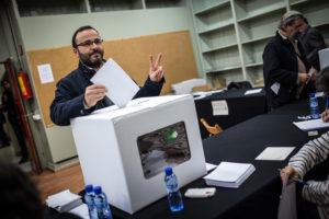 Votació a la consulta sobre la independència del passat 9 de novembre / JORDI BORRÀS