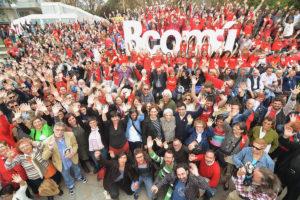 Presentació del programa de Barcelona En Comú, el cap de setmana passat / MARC LOZANO