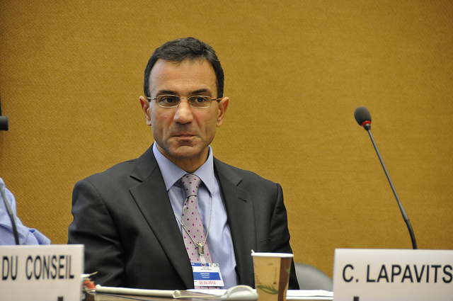 L'economista grec Costas Lapavitsas / UNCTAD