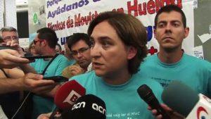 Ada Colau, alcaldessa de Barcelona