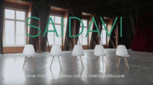 Vídeo de presentació del projecte SAIDAVI de Iridia - Centre per a la Defensa dels Drets Humans / CRÍTIC