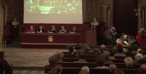 Lectura del Manifest Koiné al Paraninf de la Universitat de Barcelona / LLENGUAIREPUBLICA.CAT