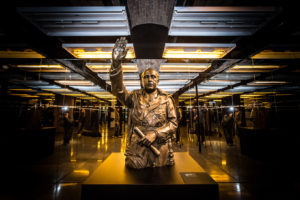 Estàtua de Franco al Museu d'Història de Catalunya / JORDI BORRÀS