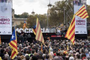 La mobilització del passat 13 de novembre a l'avinguda Maria Cristina de Barcelona / ÒMNIUM