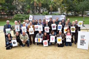 El consell assessor del projecte d'Òmnium 'Lluites compartides' / ÒMNIUM CULTURAL