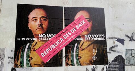 El problema no és el cartell, és el dret a l'autodeterminació