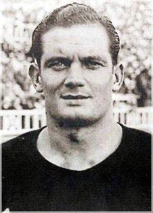 Martí Ventolrà, jugador i dirigent del sindicat de futbolistes catalans