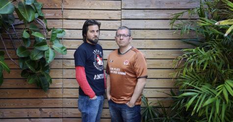 """Carles Viñas i Natxo Parra: """"El Sankt Pauli demostra que un altre futbol és possible"""""""