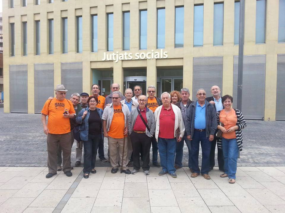 Integrants de la Marea Pensionista / MAREA PENSIONISTA