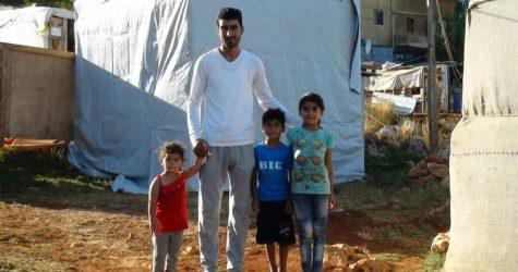 L'AMB contribueix a la millora d'un camp de persones refugiades sirianes al Líban