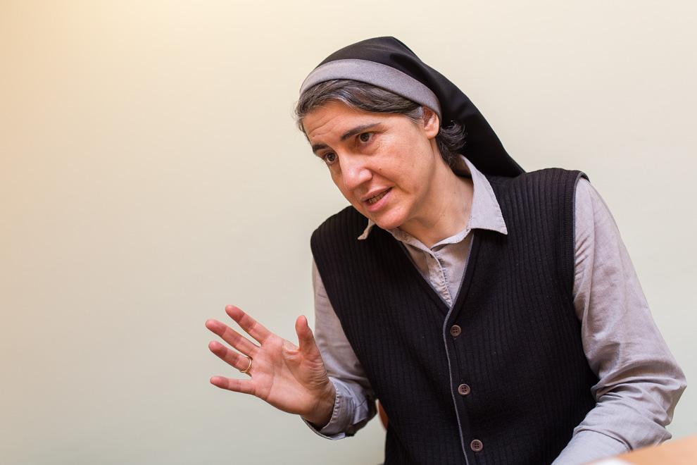 La monja Teresa Forcades s'ha postulat per presentar-se el 27S. Foto: Jordi Borràs