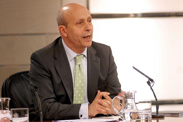 José Ignacio Wert. Foto: Govern espanyol