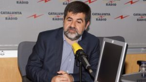 Jordi Sánchez, president de l'ANC. Foto: CCMA