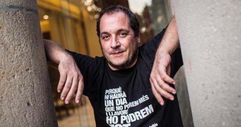 David Fernàndez no repetirà com a candidat de la CUP. Foto: Jordi Borràs