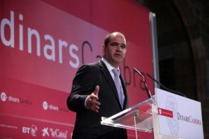 L'empresari Carles Sumarroca Claverol. Foto: Cambra de Comerç