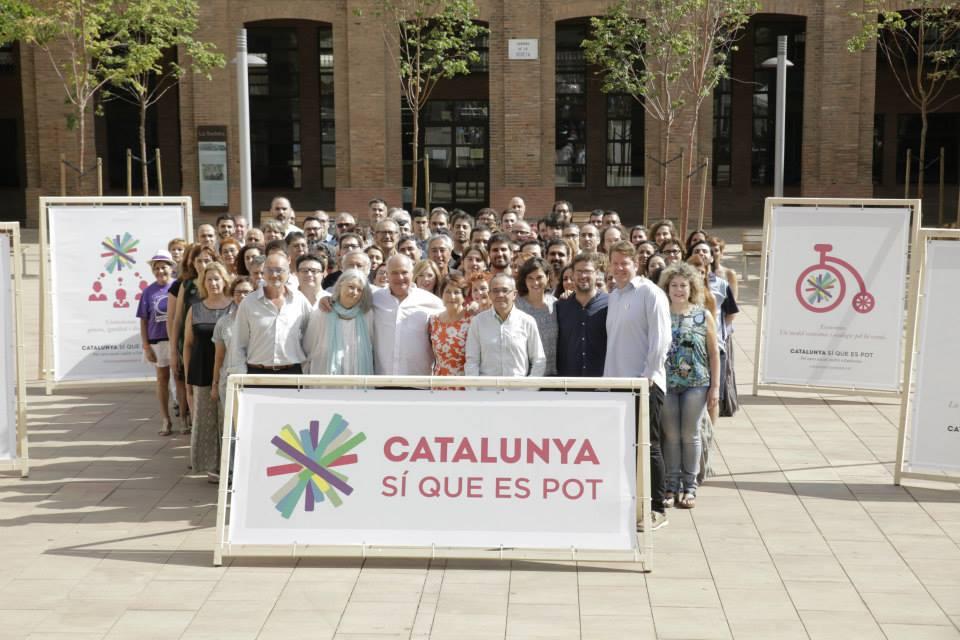 Presentació de la llista de Catalunya Sí que es Pot. Foto: CSQESP